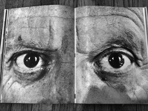 A PORTRAIT OF PABLO PICASSO - JOHAN'S INSPIRATIONAL IMAGERY FOR BLK DNM.