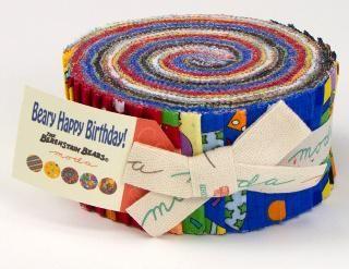Beary Happy Birthday by Berenstain Bears @ModaFabrics - We LOVE this new line!