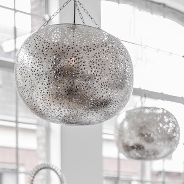 Zoco home silver lantern