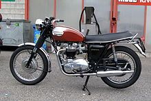 1970 US specification Triumph Bonneville T120R with 650cc Unit construction engine