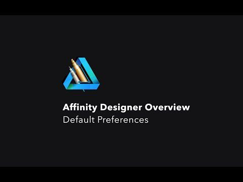 Affinity Designer. Before You Download. Overview Default Preferences Basics knowledge. In this episode You can see Affinity Designer default preferences. Affinity Designer is a vector illustration and graphic design application for Mac. Apple's Best App of 2014. Mac App Store Editor's Choice.  Affinity Designer 1.1.2