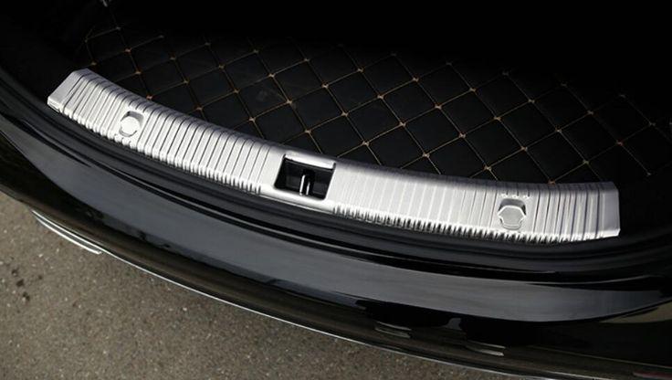 61.10$  Watch now - http://alix8d.shopchina.info/go.php?t=32756041572 - Stainless Steel Rear Trunk Door Sill Footplate Cover Trim For Mercedes Benz W213 E200 E300 E350 E400 E Class 2017  #aliexpressideas