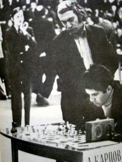 Karpov, Tal y Kasparov.