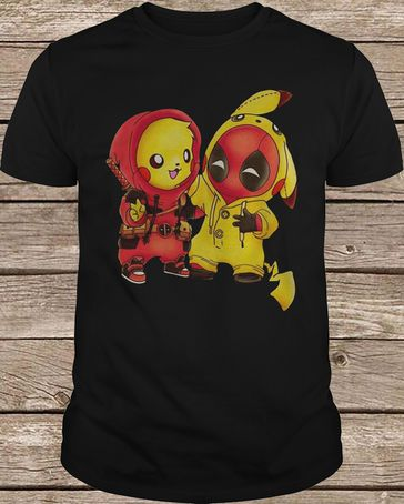 36dafeaf5 Ryan Reynolds Pikachu Deadpool t shirt in 2019 | Pop | Deadpool t ...