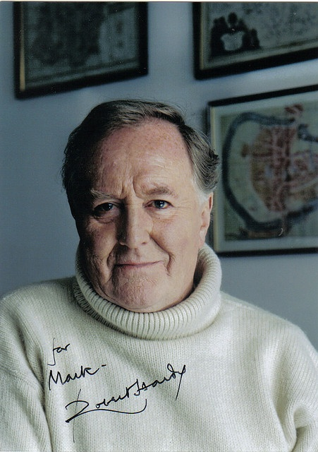 """Robert Hardy is wonderful. I really loved him in """"All Creatures Great and Small"""" - his eccentric portrayal of Siegfried absolutely made the show. He's better known to younger generations as the Minister of Magic in the """"Harry Potter"""" movies."""