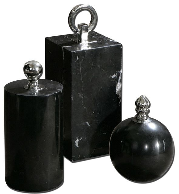 marble decorative bottles