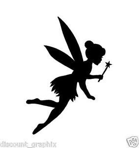 tinkerbell silhouette - Google Search