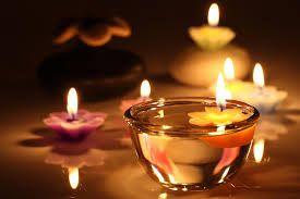 candles romantic