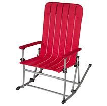 Portable Rocking Chair - Red