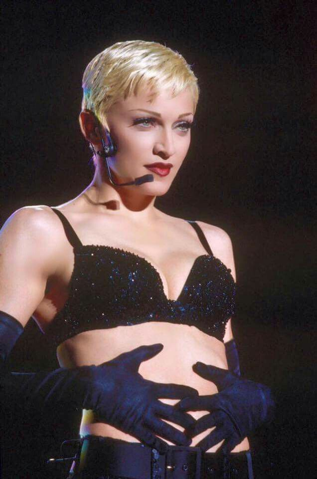 Madonna, 1993, the Girlie Show, wardrobe by Dolce ...