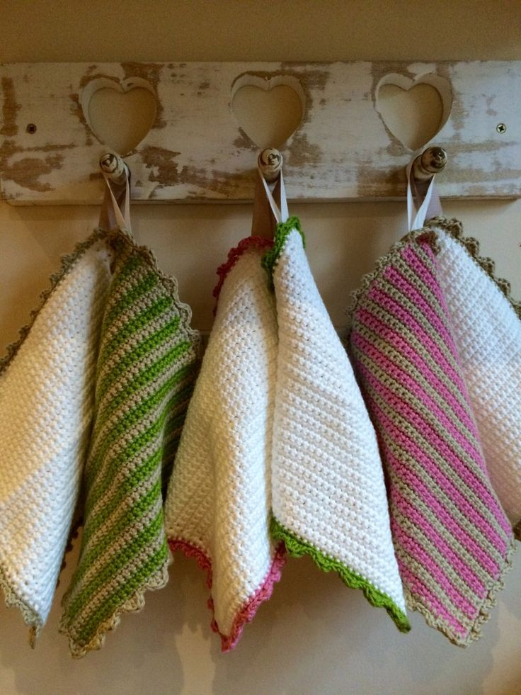 Crochet with Kate - fabulous facecloths on the LoveCrochet blog!