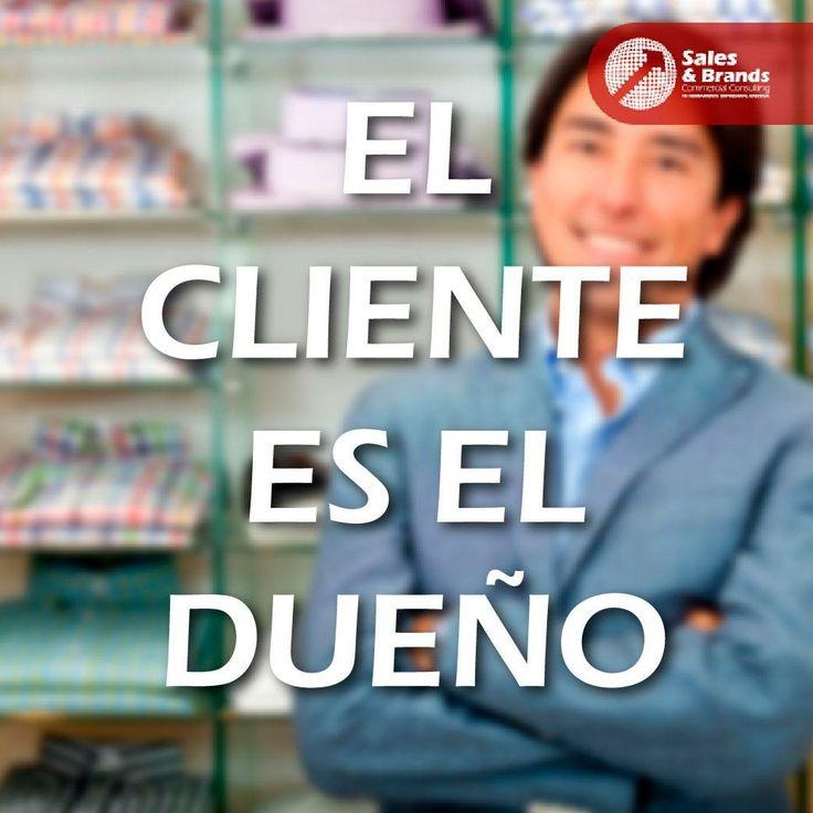 El cliente es el centro de nuestras actividades y todo lo que realizamos debe girar en torno a él. Haz que se sienta que él decide qué pasa con el producto.  www.salesandbrands.com/localizanos/   #marketing #ventas #compras #negocios #empresas #pymes #caracas #venezuela #advertising #estrategias #entrepreneur #ads
