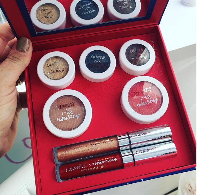 Lip Drama: NEW ColourPop x Hello Kitty Collection Launching Soon! | ColourPop x Hello Kitty Full Face Kit