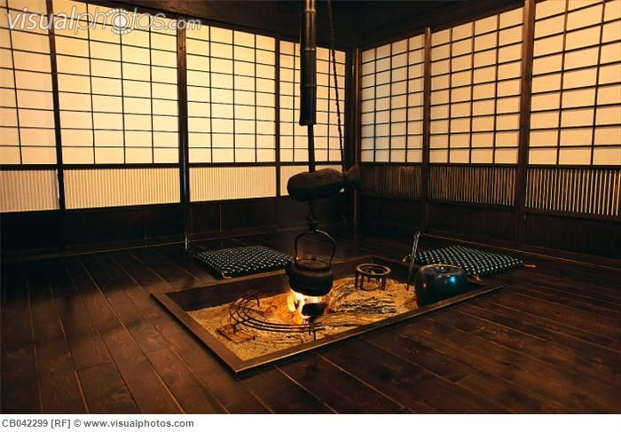 Traditional japanese house elements of traditional for Traditional japanese kitchen