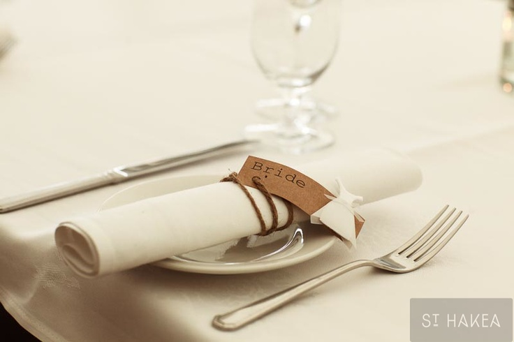 place card. Styled by St. Hakea sthakea.com