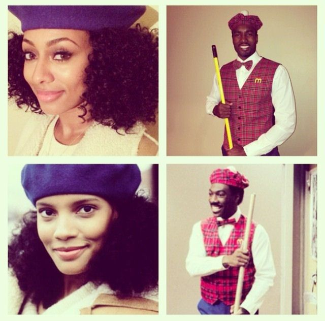 Serge Ibaka And Keri Hilson's 'Coming To America' Halloween Costumes! 10 out of 10!