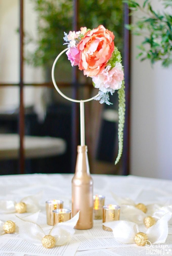 This Gorgeous Craft Consists Of Anything And Everything Harry Potter Quidditch Bridal Shower Centerpiece Complete With Golden Snitches