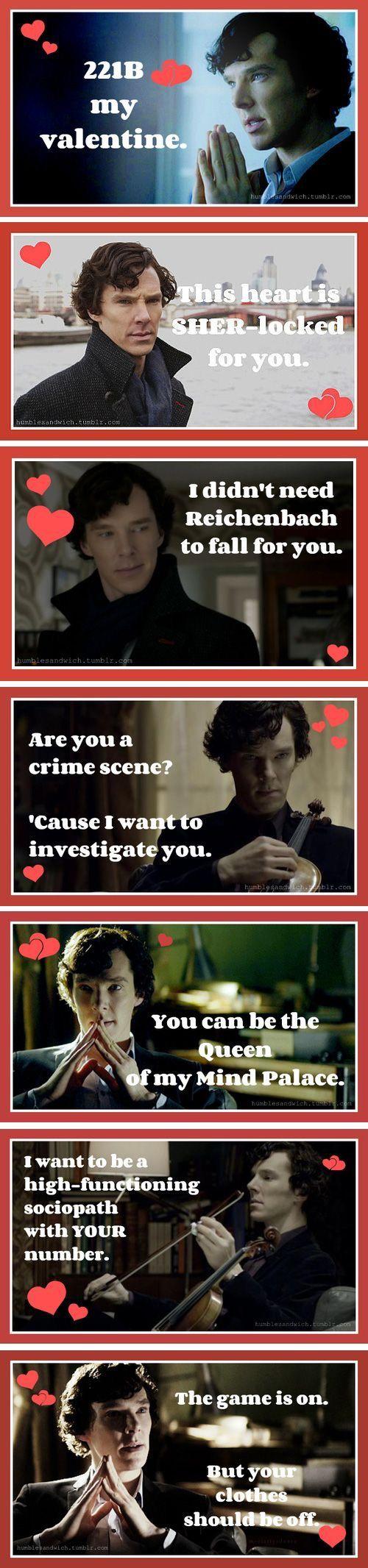 Happy Valentine's Day Fellow Sherlockians!!! :)