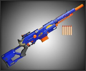 What American children want for Christmas? #9.) A nerf gun | a girl's Nerf Rebelle | A tricked-out steampunk nerf gun - Nerf!!!!!