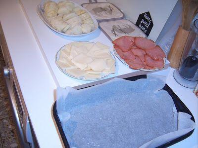 Papilele Alintate: Ceva gustos...cartofi, muşchi şi cascaval