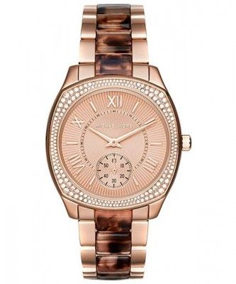Michael Kors Bryn Rose Gold Crystals Accented MK6276 Womens Watch http://bit.ly/1UwMy4M
