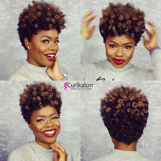 Crochet Hair Pre Curled : Wigs, Curls and Back to on Pinterest