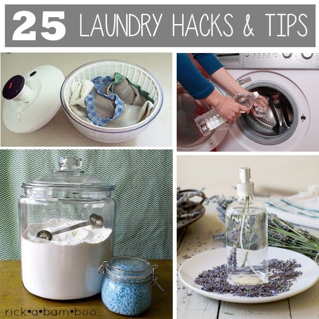 25 laundry hacks and tips to make life just a touch easier for families.