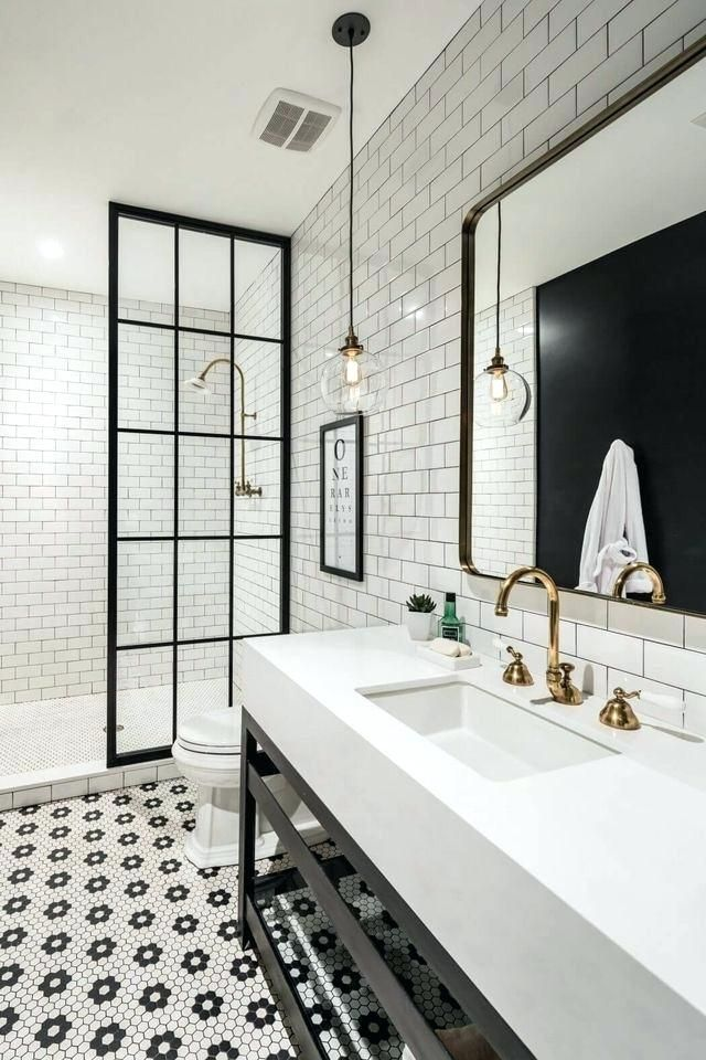 Black And White Bathroom Ideas Best Bathrooms Ideas Images On