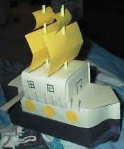Milk carton pirate ships. Great to teach stability, waterproof materials ... and of course, buoyancy