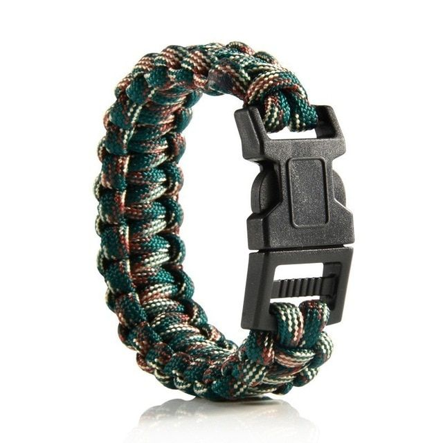 Braided Bracelet Men Women Paracord Outdoor Survival Bracelet