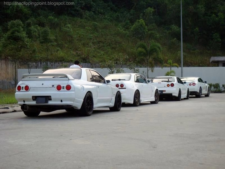 Line Of KINGS NISSAN SKYLINE R32 GTR, Nissan Skyline R33, Nissan Skyline  GTR R34