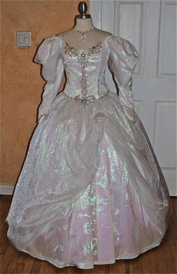 Sarahs Labyrinth Masquerade Movie Gown Custom by RomanticThreads