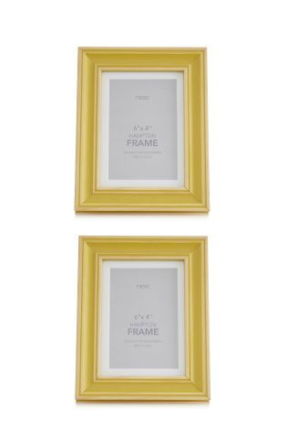 Buy Set Of 2 Hampton Ochre Frames online today at Next: Israel