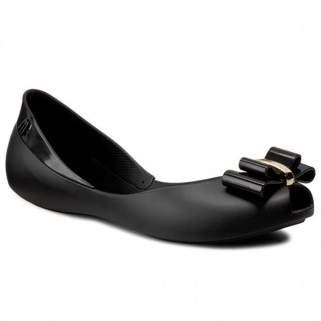 Baleriny MELISSA - Queen V Ad 31818 Black 01003