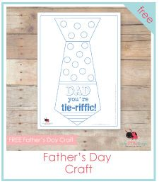 free fathers day craft