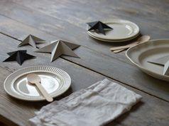 Estrellas de papel en 3D