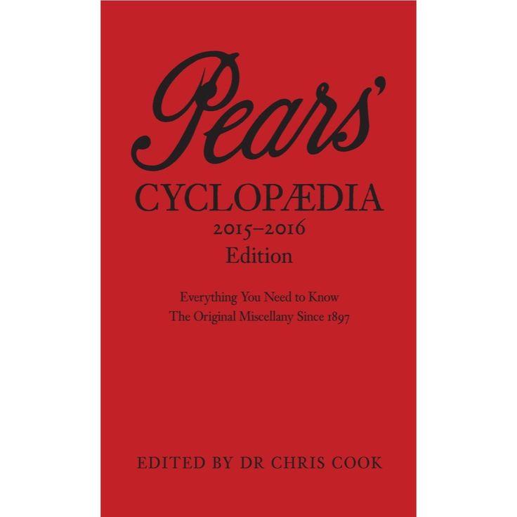 Pears Cyclopaedia  2015-2016