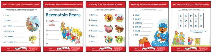 The Berenstain Bears Lesson Plans - Varsity Tutors