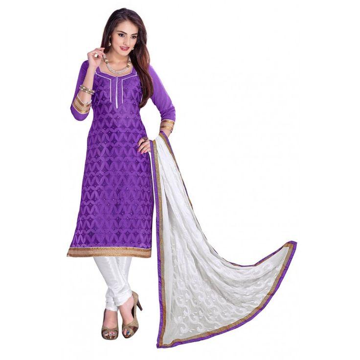 Casual Wear Purple Georgette Saree - RKSALS824   Informal, Púrpura y ...