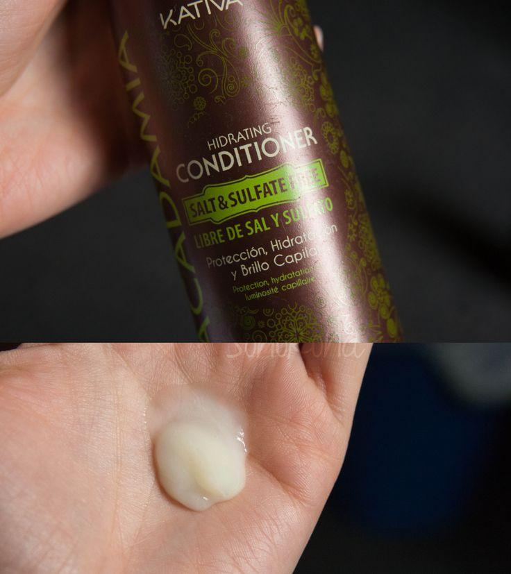 kativa macadamia hydrating conditioner Το Conditioner εξισορροπεί το επίπεδο υγρασίας, διευκολύνοντας έτσι το ξεμπέρδεμα και τη βελτίωση του ελέγχου των μαλλιών.