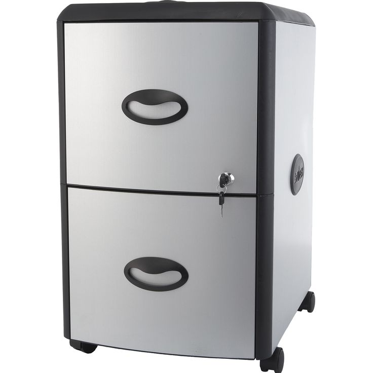 Two Drawer / Plastic File Cabinet