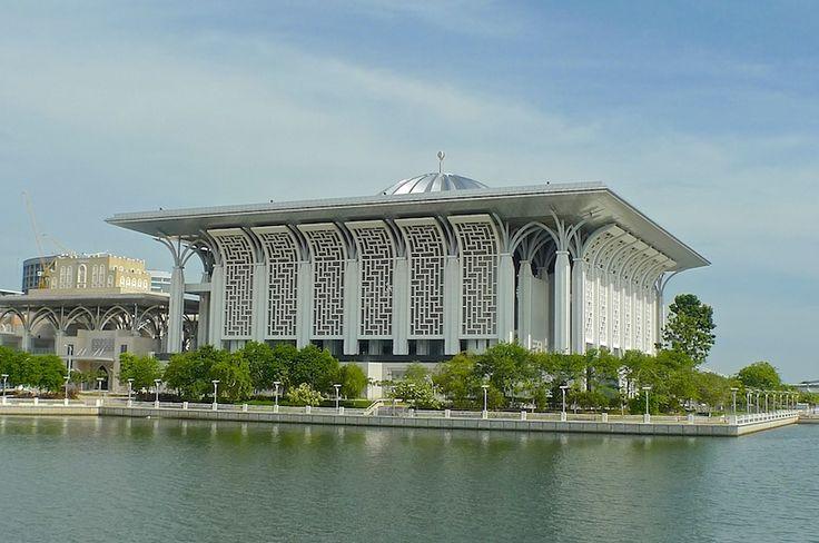 Iron Mosque in Putrajaya, Malaysia
