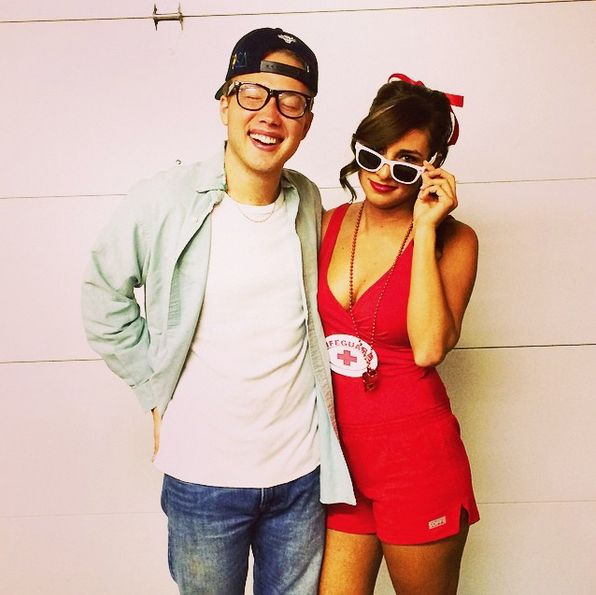 """Cute costume idea for couples! Squints and Wendy Peffercorn from """"The Sandlot"""""""