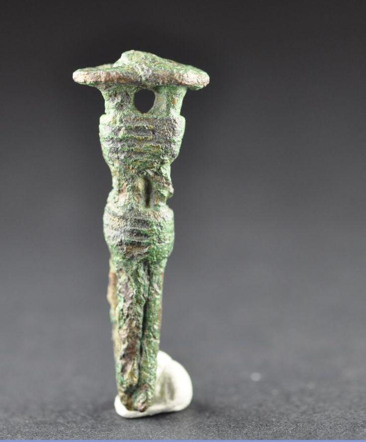 Amlash bronze figurine 1, 1st millenium B.C. Private collection