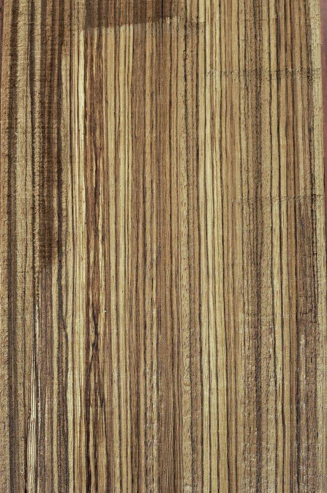 Zebrano - hårdttræ. Copyright: Keflico A/S.