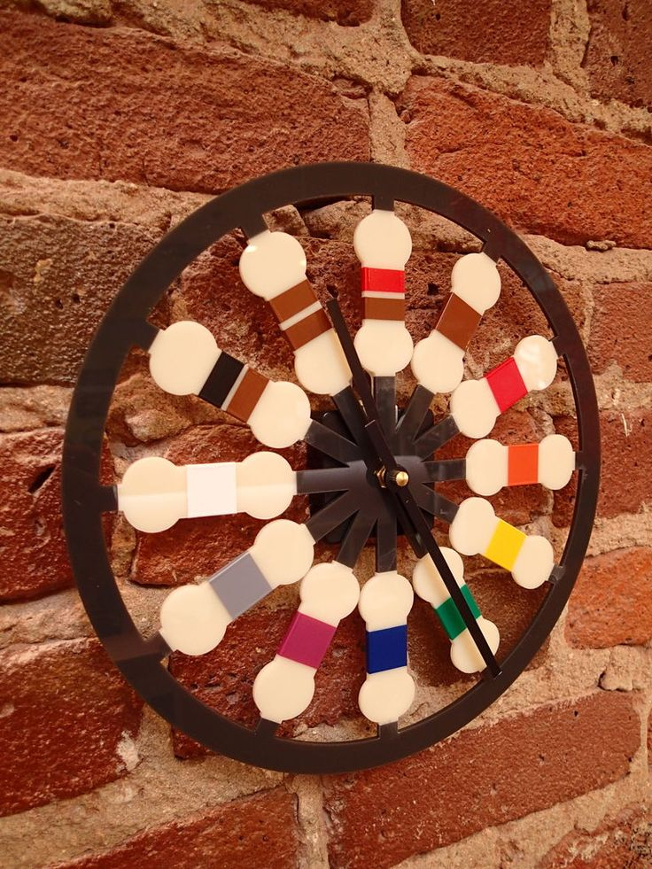 Resistor Color Code Clock | Clock, Color codes and Colors