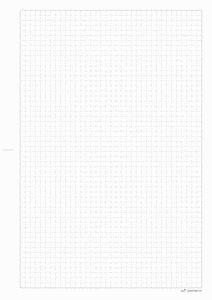 Kariertes Papier zum ausdrucken - Papiervorlagen