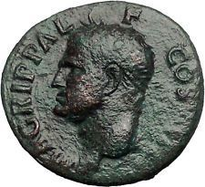 Marcus Vipsanius Agrippa Augustus General Ancient Roman Coin by CALIGULA i55314 https://trustedmedievalcoins.wordpress.com/2016/05/07/marcus-vipsanius-agrippa-augustus-general-ancient-roman-coin-by-caligula-i55314/