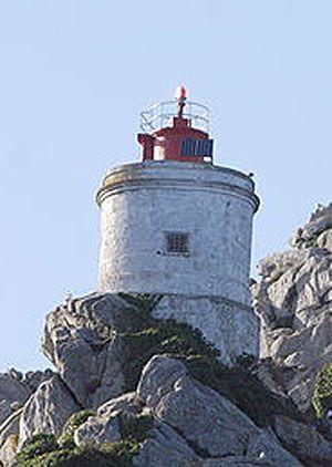 Faro de Cabo Vicos. Islas Cíes / Galicia / Spain