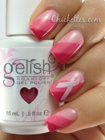 Gelish Breast Cancer Awareness Collection KEEP UP THE FIGHT!!!!! I will have to remember this for October!!!!!